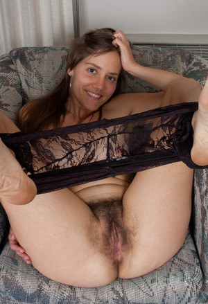 Hairy Mature In Pantyhose