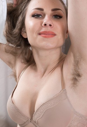 Lingerie Hairy Pussy