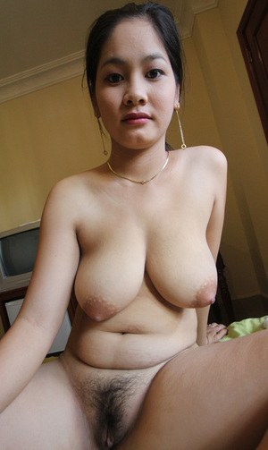 Hairy Mature Asian Pussy